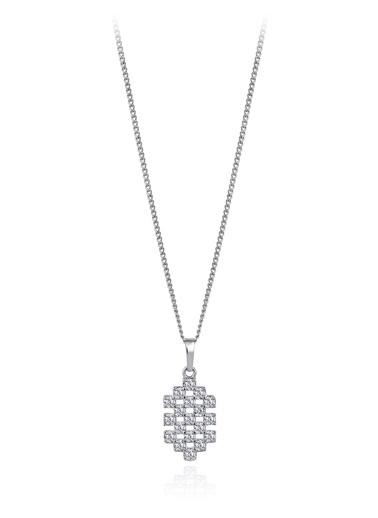 0,40 ct Pırlanta Efekt Altın Tie Vital Kolye-Tophills Diamond Co.